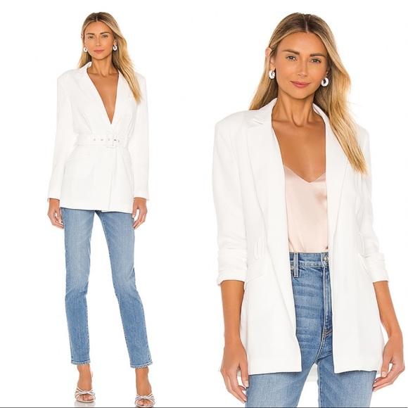 NBD Jackets & Blazers - NWT NBD Niko Blazer in White